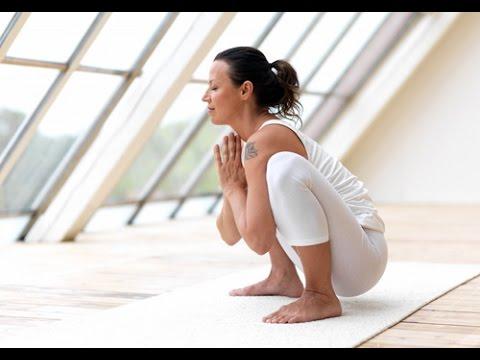 Yin-Yoga-squat