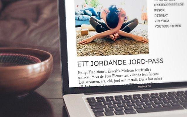 Blogg om yinyoga