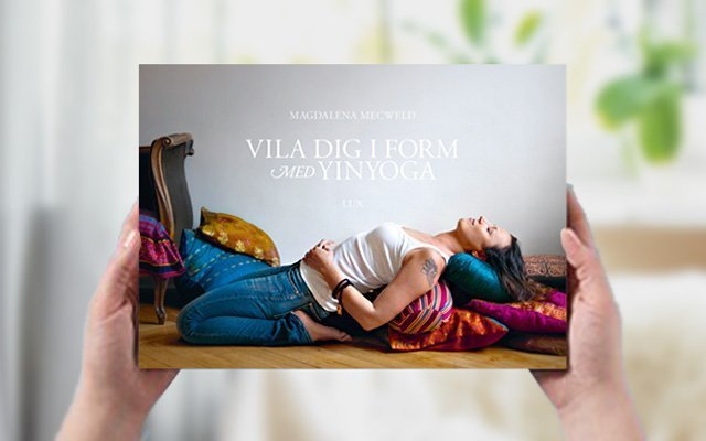 Yinyoga bok och app av Magdalena Mecweld