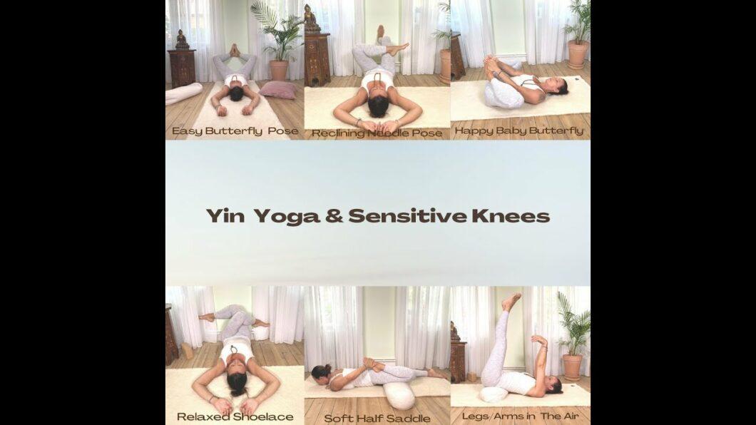 Yinyoga for sensitive knees, Magdalena Mecweld